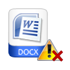Repair corrupted docx file